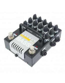 AMT Electronics BC-1 Bass Crunch – 2-channel JFET Bass guitar preamp