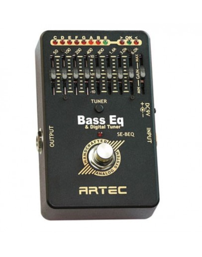 Artec Bass Graphic Equalizer with Chromatic Tuner