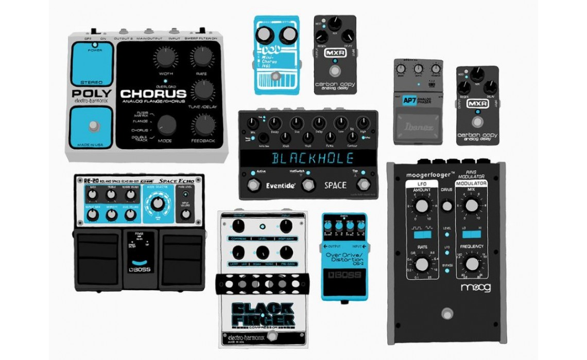 Should I Use Guitar Foot Pedals or Digital Effect Modellers?