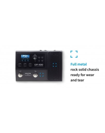 Valeton GP-100 Multi Effect, Looper and Interface