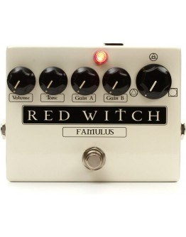 Red Witch Famulus Distortion Pedal