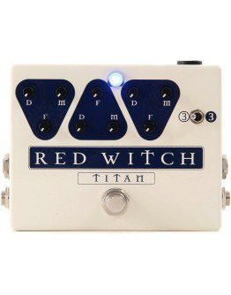 Red Witch Titan Triple Delay Pedal