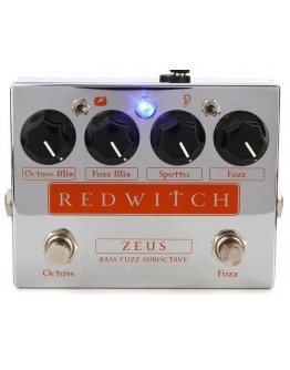 Red Witch Bass Fuzz Suboctave Pedal