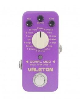 Valeton Coral Mod Modulation Effects