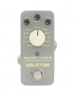 Valeton Coral Verb Digital Modeling Reverb